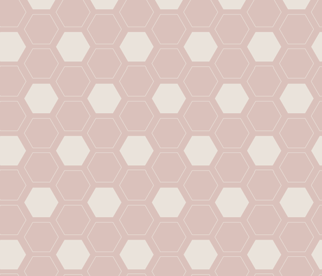 Sweet Honeycomb fabric by wildflower_like_grace on Spoonflower - custom fabric