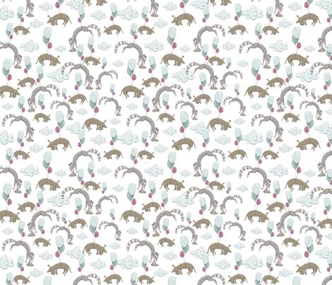 ML_SpringTea_Pattern (9) fabric by mizzlisa on Spoonflower - custom fabric