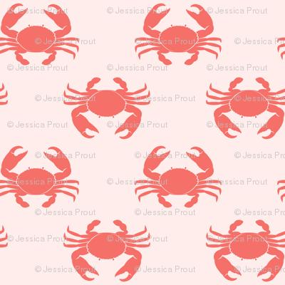 crabs - pink