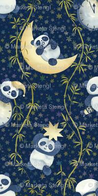Sh, Sh, Panda Is Sleeping