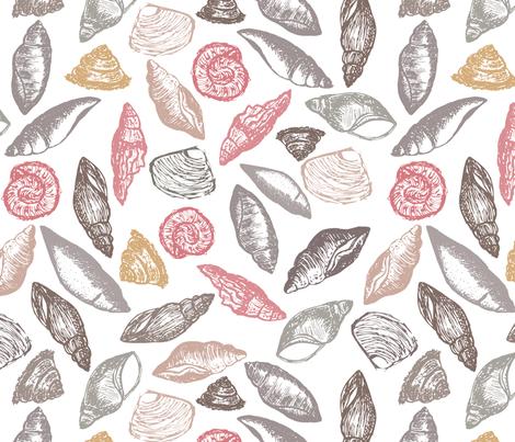 fossil fabric by annaostapowiczkulczycka on Spoonflower - custom fabric
