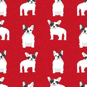 french bulldog black and white coat pet quilt a dog collection