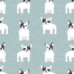 french bulldog black and white coat pet quilt b dog collection