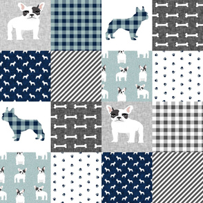 french bulldog black and white coat pet quilt b dog quilt collection