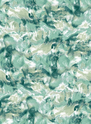 Marble Mist Green Large Scale