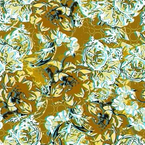 Floral profusion gold