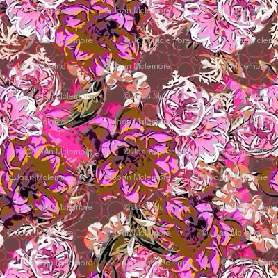 Floral Profusion fuschia
