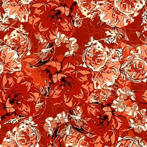 Floral profusion rust