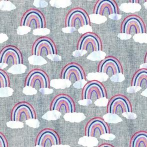 just rainbows linen