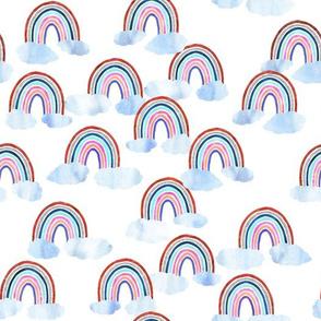 just rainbows white