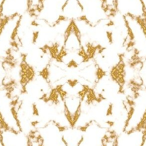 Marble Texture Stone Gold and White