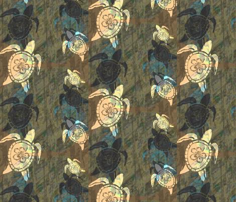 The Solemn Return fabric by lahela_ink on Spoonflower - custom fabric
