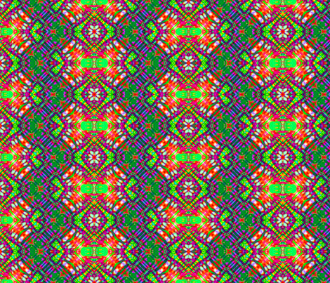 Wild Rainbow Weave fabric by just_meewowy_design on Spoonflower - custom fabric