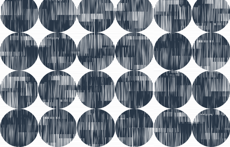 Groundcovers M+M N Navy Black by Friztin fabric by friztin on Spoonflower - custom fabric