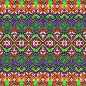 African Rainbow Weave