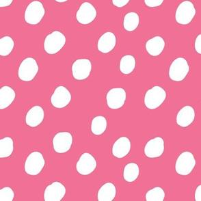 LARGE Pink Polka Dots Anaheim