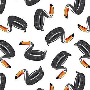 toucan floats