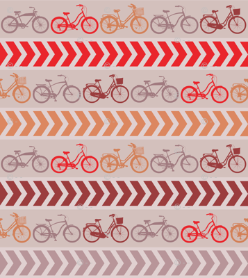 Beach Cruiser Retro Stripe