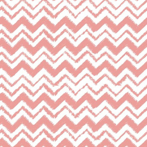 Wild and Free Pinky Peach chevron for baby or nursery