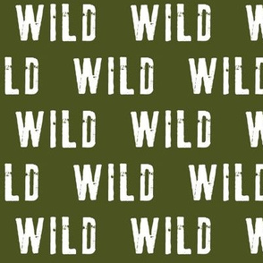 WILD (army green)