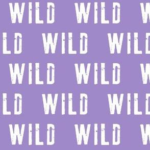 WILD (lavender)