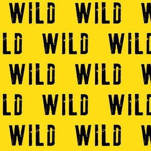 WILD (yellow and black)