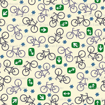 Ditsy Bicycles