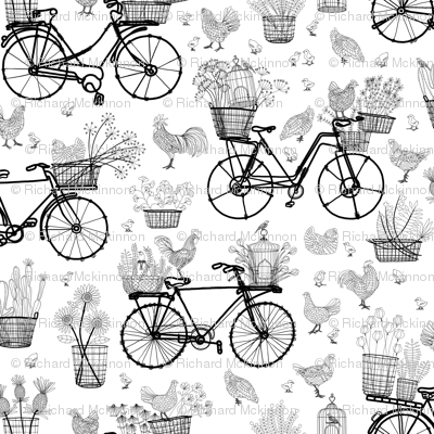 Bicycles for Africa 18x18