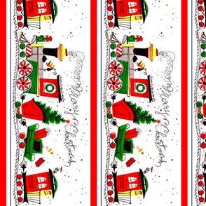 custom christmas train rotate 90