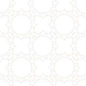 Starlight Lattice: Millennial Pink 4 & White