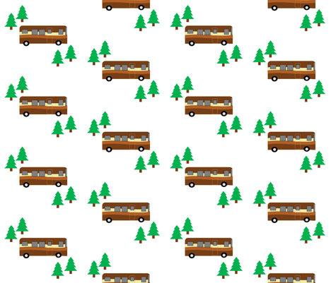 On the Go in the RV fabric by sisters_of_the_heart on Spoonflower - custom fabric