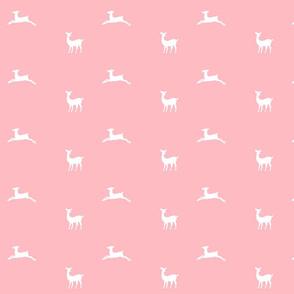 Deer 2 - MED58 petal  white