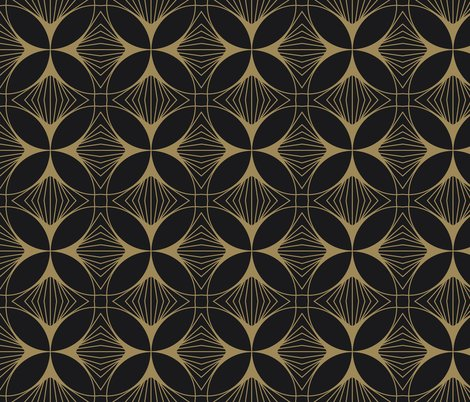 Rfloral-cross-gold-on-charcoal_shop_preview