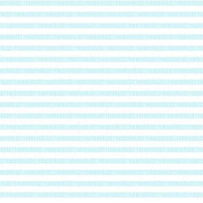 Skinny Striped Line Block Print in Baby Blue