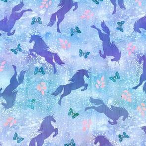 Unicorn toss pastel