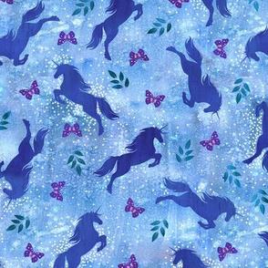 Unicorn toss_blue