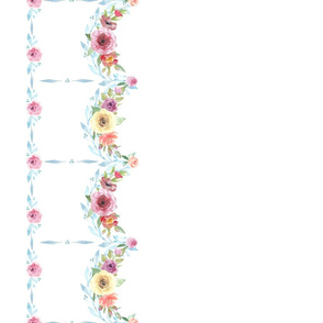 French Country Floral-Swag Border