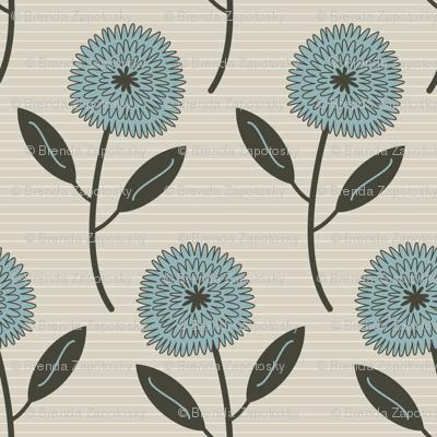 Farmhouse Blooms (Blue)