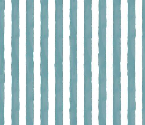 Watercolor Stripes Vertical fabric by taylor_bates_creative on Spoonflower - custom fabric