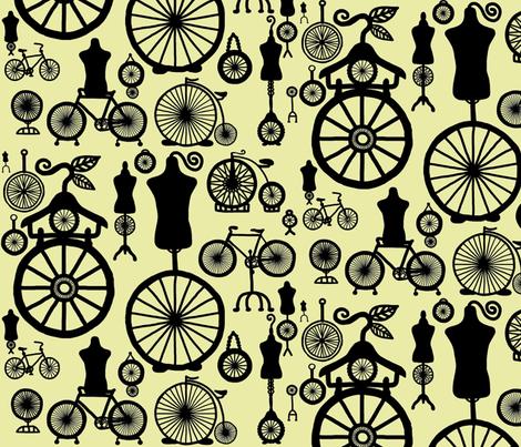 Sculpture.  The Art of Cycles fabric by maryartdecor&design on Spoonflower - custom fabric