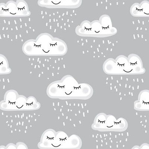 sleeping clouds and rain