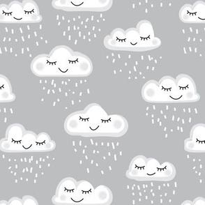 sleeping clouds and rain