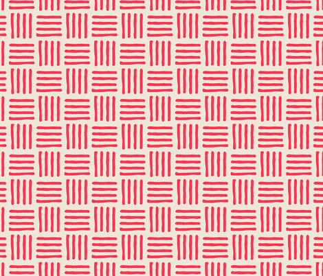 Red Stripes fabric by diseminger on Spoonflower - custom fabric