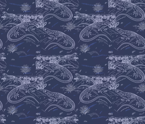 The Endangered Species fabric by isabella_asratyan on Spoonflower - custom fabric