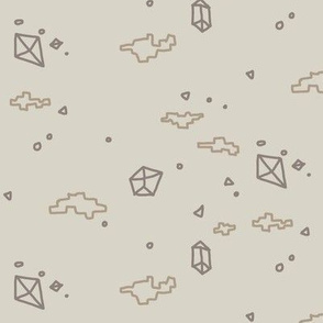 gravel and geodes muted