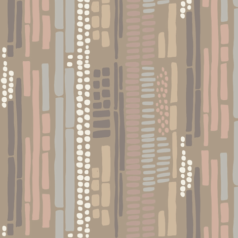sticks and stones muted 90 fabric by mrshervi on Spoonflower - custom fabric