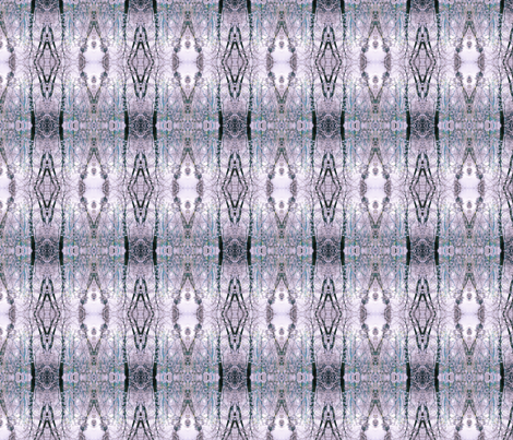 Winter (Lavender & Teal) fabric by belovedsycamore on Spoonflower - custom fabric