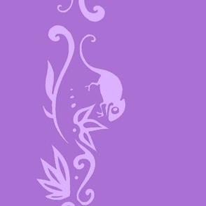 Rapunzel Pascal Border