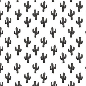 Cacti Black and White