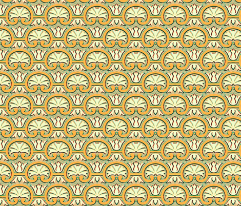17eme siecle 54 fabric by hypersphere on Spoonflower - custom fabric